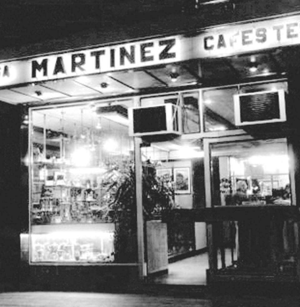 About us - Cafe martinez